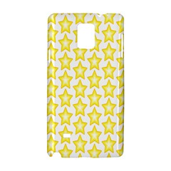 Yellow Orange Star Space Light Samsung Galaxy Note 4 Hardshell Case by Mariart