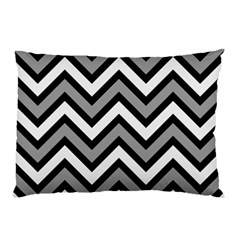 Zig Zags Pattern Pillow Case (two Sides) by Valentinaart