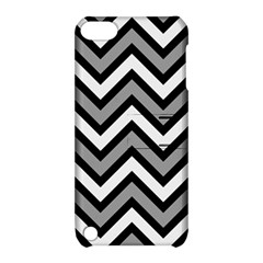 Zig Zags Pattern Apple Ipod Touch 5 Hardshell Case With Stand by Valentinaart