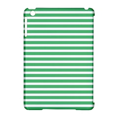 Horizontal Stripes Green Apple Ipad Mini Hardshell Case (compatible With Smart Cover) by Mariart