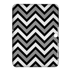 Zig Zags Pattern Samsung Galaxy Tab 4 (10 1 ) Hardshell Case  by Valentinaart
