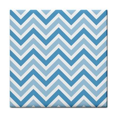 Zig Zags Pattern Tile Coasters by Valentinaart