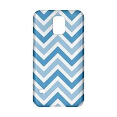Zig Zags Pattern Samsung Galaxy S5 Hardshell Case  by Valentinaart