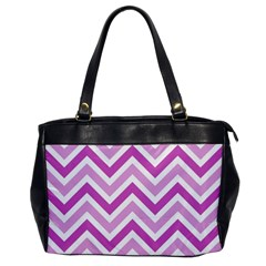 Zig Zags Pattern Office Handbags by Valentinaart