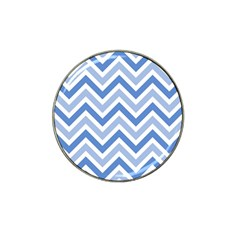 Zig Zags Pattern Hat Clip Ball Marker (4 Pack) by Valentinaart