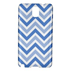 Zig Zags Pattern Samsung Galaxy Note 3 N9005 Hardshell Case by Valentinaart
