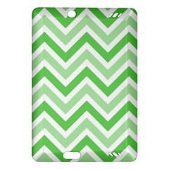 Zig Zags Pattern Amazon Kindle Fire Hd (2013) Hardshell Case by Valentinaart