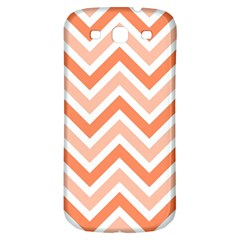Zig Zags Pattern Samsung Galaxy S3 S Iii Classic Hardshell Back Case by Valentinaart