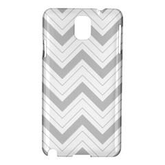Zig Zags Pattern Samsung Galaxy Note 3 N9005 Hardshell Case by Valentinaart