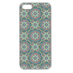 Decorative Ornamental Geometric Pattern Apple Seamless Iphone 5 Case (clear) by TastefulDesigns
