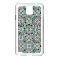 Decorative Ornamental Geometric Pattern Samsung Galaxy Note 3 N9005 Case (white) by TastefulDesigns
