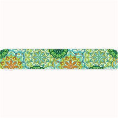 Forest Spirits  Green Mandalas  Small Bar Mat by bunart
