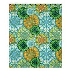 Forest Spirits  Green Mandalas  Shower Curtain 60  X 72  (medium) by bunart