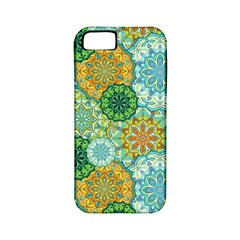 Forest Spirits  Green Mandalas  Apple Iphone 5 Classic Hardshell Case (pc+silicone) by bunart