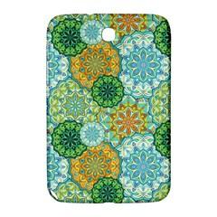 Forest Spirits  Green Mandalas  Samsung Galaxy Note 8 0 N5100 Hardshell Case  by bunart