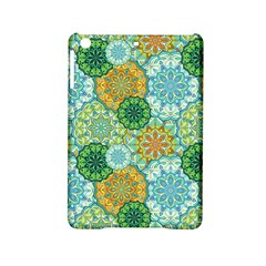 Forest Spirits. Green mandalas. Apple iPad Mini 2 Hardshell Case by bunart