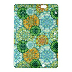 Forest Spirits  Green Mandalas  Kindle Fire Hdx 8 9  Hardshell Case by bunart