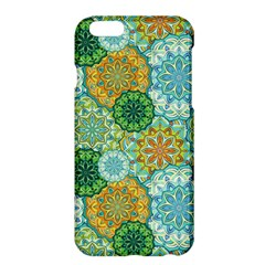 Forest Spirits  Green Mandalas  Apple Iphone 6 Plus/6s Plus Hardshell Case by bunart