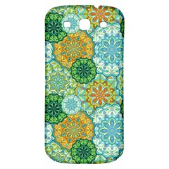 Forest Spirits  Green Mandalas  Samsung Galaxy S3 S Iii Classic Hardshell Back Case by bunart