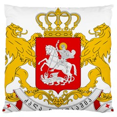 Greater Coat Of Arms Of Georgia Standard Flano Cushion Case (two Sides) by abbeyz71