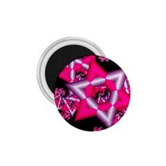 Star Of David On Black 1 75  Magnets by Simbadda