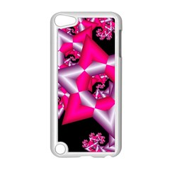 Star Of David On Black Apple Ipod Touch 5 Case (white) by Simbadda