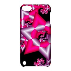 Star Of David On Black Apple Ipod Touch 5 Hardshell Case With Stand by Simbadda
