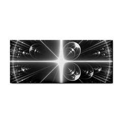 Black And White Bubbles On Black Cosmetic Storage Cases by Simbadda