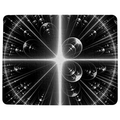 Black And White Bubbles On Black Jigsaw Puzzle Photo Stand (rectangular) by Simbadda
