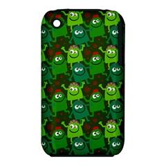 Seamless Little Cartoon Men Tiling Pattern Iphone 3s/3gs by Simbadda