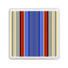 Colorful Stripes Background Memory Card Reader (square)  by Simbadda
