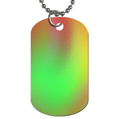 November Blurry Brilliant Colors Dog Tag (one Side) by Simbadda
