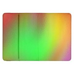 November Blurry Brilliant Colors Samsung Galaxy Tab 8 9  P7300 Flip Case by Simbadda