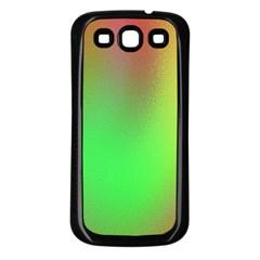 November Blurry Brilliant Colors Samsung Galaxy S3 Back Case (black) by Simbadda