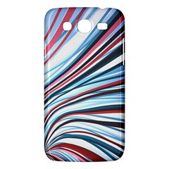 Wavy Stripes Background Samsung Galaxy Mega 5 8 I9152 Hardshell Case  by Simbadda