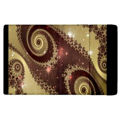 Space Fractal Abstraction Digital Computer Graphic Apple Ipad 2 Flip Case by Simbadda