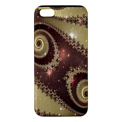 Space Fractal Abstraction Digital Computer Graphic Iphone 5s/ Se Premium Hardshell Case by Simbadda
