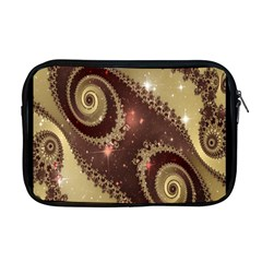 Space Fractal Abstraction Digital Computer Graphic Apple Macbook Pro 17  Zipper Case by Simbadda