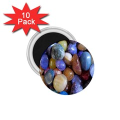 Rock Tumbler Used To Polish A Collection Of Small Colorful Pebbles 1 75  Magnets (10 Pack)  by Simbadda