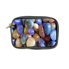 Rock Tumbler Used To Polish A Collection Of Small Colorful Pebbles Coin Purse by Simbadda