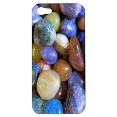 Rock Tumbler Used To Polish A Collection Of Small Colorful Pebbles Apple Iphone 5 Hardshell Case by Simbadda