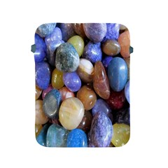 Rock Tumbler Used To Polish A Collection Of Small Colorful Pebbles Apple Ipad 2/3/4 Protective Soft Cases by Simbadda