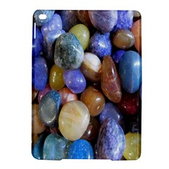 Rock Tumbler Used To Polish A Collection Of Small Colorful Pebbles Ipad Air 2 Hardshell Cases by Simbadda
