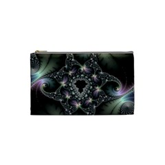 Magic Swirl Cosmetic Bag (small)  by Simbadda