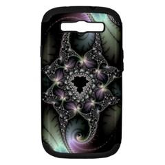 Magic Swirl Samsung Galaxy S Iii Hardshell Case (pc+silicone) by Simbadda