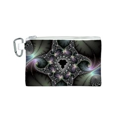 Magic Swirl Canvas Cosmetic Bag (s) by Simbadda