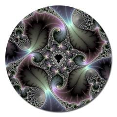 Precious Spiral Wallpaper Magnet 5  (round) by Simbadda