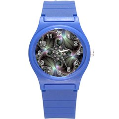 Precious Spiral Wallpaper Round Plastic Sport Watch (s) by Simbadda