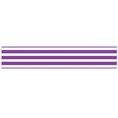 Horizontal Stripes Purple Flano Scarf (large) by Mariart