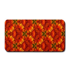 Background Flower Fractal Medium Bar Mats by Simbadda